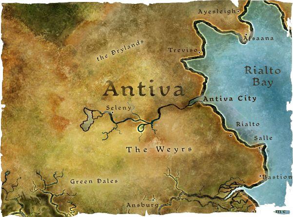 Dragon Age   RPG   Fantasy Map