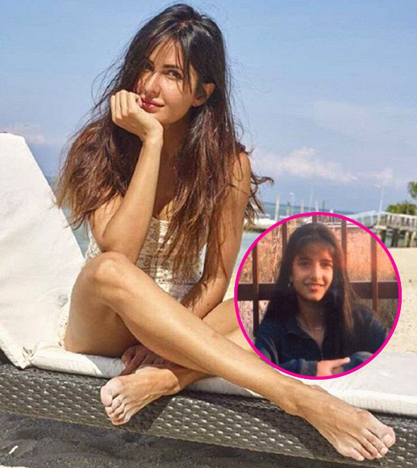 Katrina Kaif shares a throwback picture of her as a 12-year-old