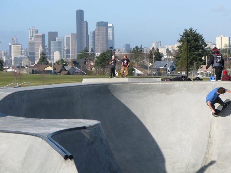 Jefferson Skatepark - Seattle, WA. USA