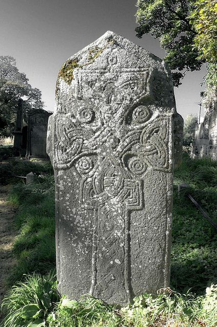 Fahan Churchyard  County Kerry,  Ireland