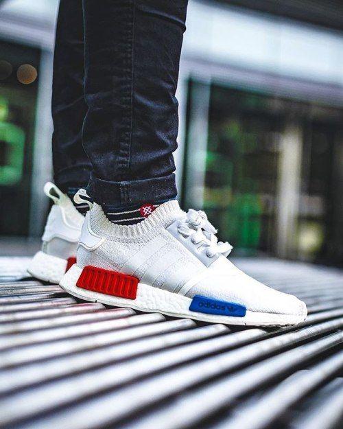 Adidas NMD R1 Primeknit - White - 2016