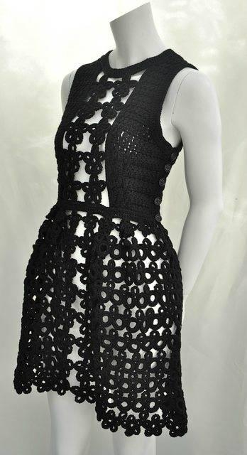 An eBay seller says this crochet dress is a Miu Miu