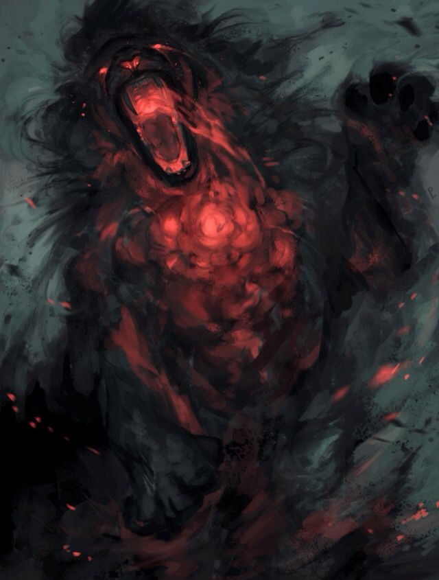 Lion Hell Fire