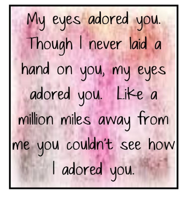 """My Eyes Adored You""...Frankie Valli"