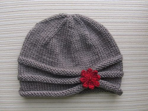Ravelry: Rolled Brim Hat in Size Adult pattern by Elena Chen