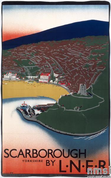 Scarborough - L.N.E.R. Poster, Tom Purvis