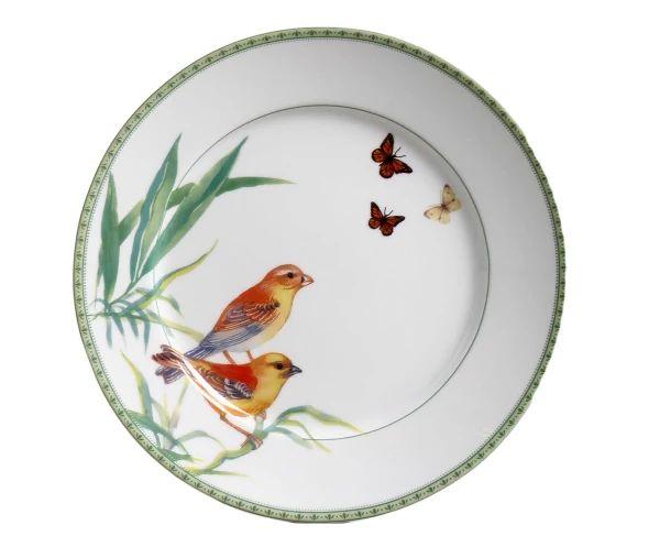 Jogo de Jantar e Chá em Porcelana Silvestre - 04 Pessoas