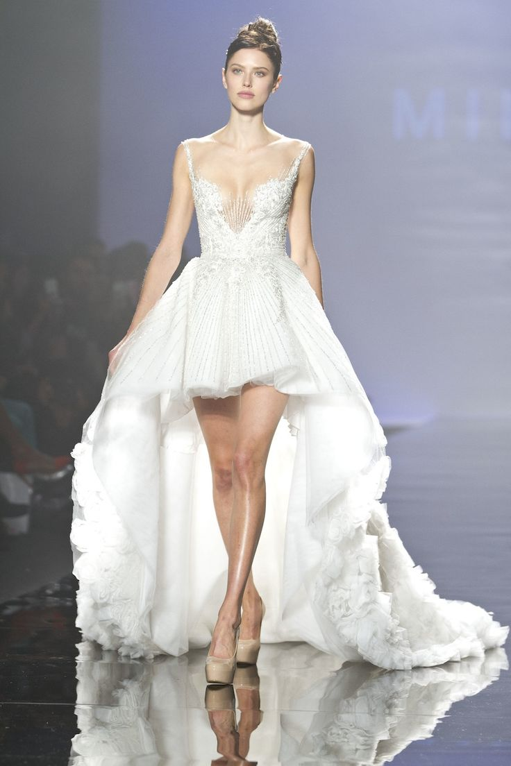 1000+ images about Short wedding dresses on Pinterest | Strapless ...