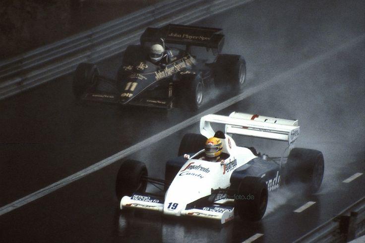 Elio de Angelis | Lotus 95T & Ayrton Senna, Toleman TG184 | Monaco Grand Prix