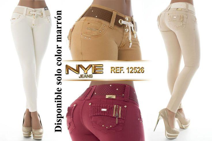 Pantalón colombiano NYE   +Modelos en:  http://www.ropadesdecolombia.com/index.php?route=product/category&path=112   #pantalón #pantalones #pantalonescolombianos #moda #jeans #pantalon