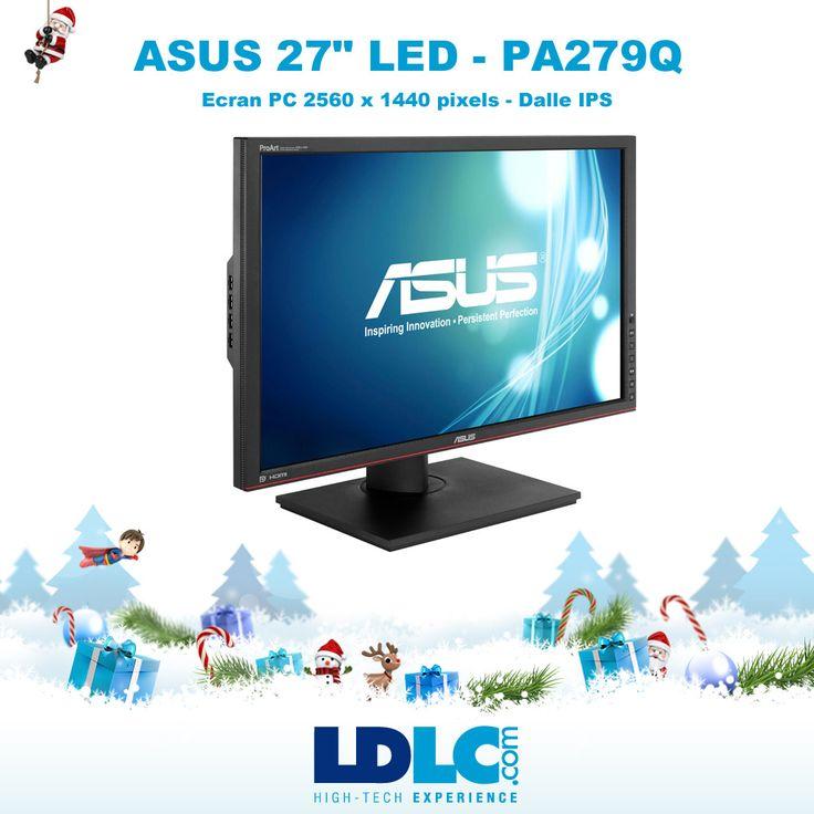 """Grand jeu de Noël LDLC ! Vous avez voté pour : ASUS 27"""" LED - PA279Q : http://www.ldlc.com/fiche/PB00151327.html  RDV le 27/11 pour vous inscrire à notre grand jeu de Noël !"""