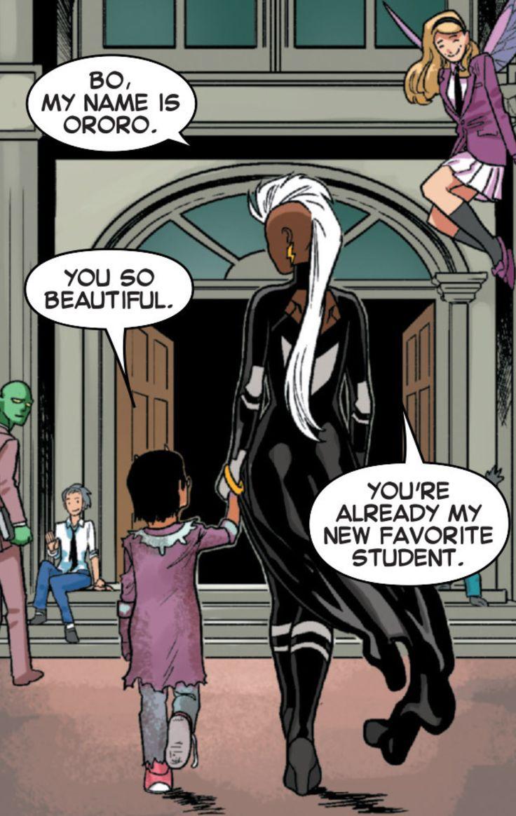 kristaferanka: why-i-love-comics: Uncanny X-Men #33 (2015) written by Brian Michael Bendisart by Kris Anka & Antonio Fabela here is whats under Storm's speech bubble
