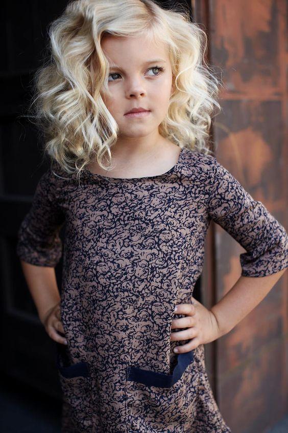 Cortes de pelo de niña en cabello rizado 9708c8af815