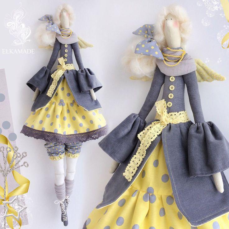 Купить Интерьерная кукла тильда Кати - тильда, тильда кукла, кукла ручной работы