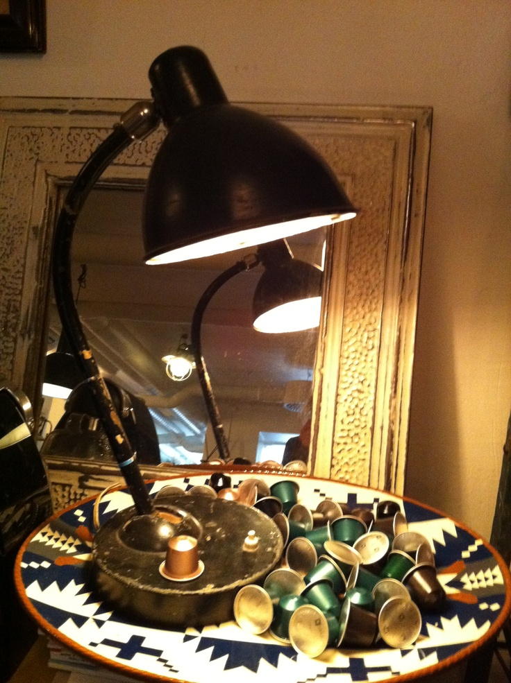 Industrilampa fr Dusty Deco
