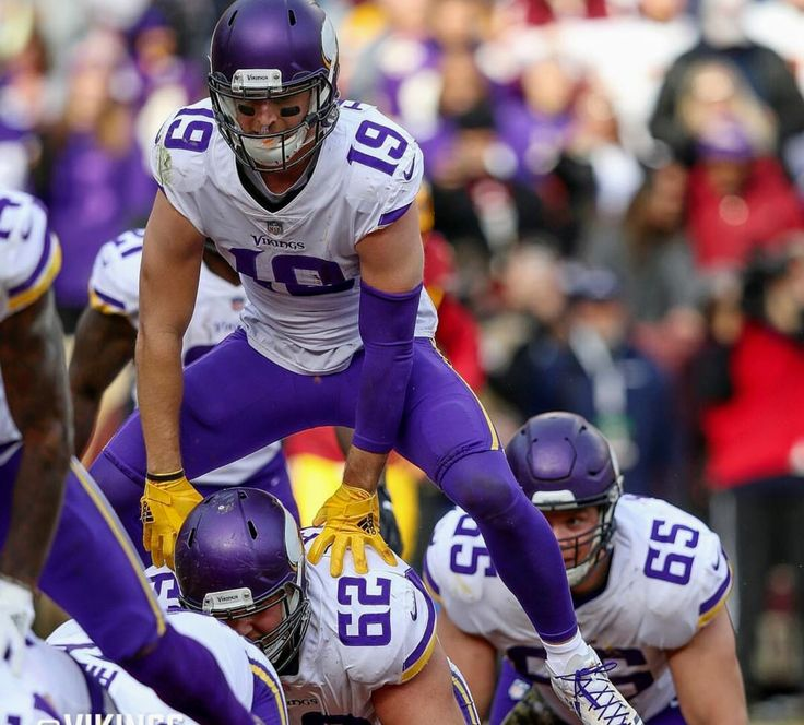 Adam Thielen TD leapfrog! Are you true Vikes Fan? This Vikings gear for you! Tap link and get yours now!