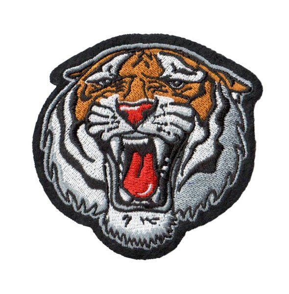 Wild Tiger: Embroidery Patch