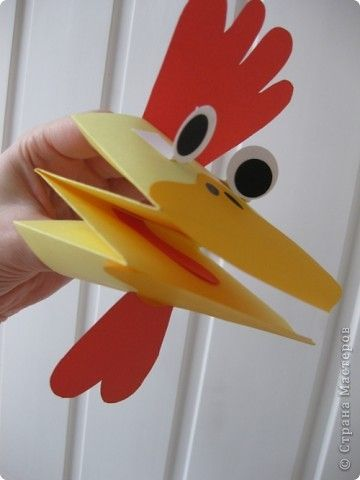 chicken handpuppet