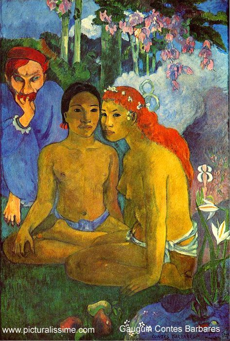 Paul Gauguin Contes Barbares