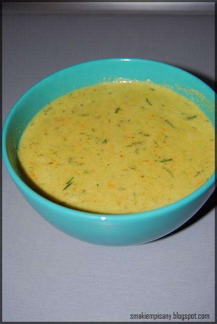Smakiem Pisany: apetyczny, aromatyczny, kulinarny BLOG!: Zupa krem z zielonego ogórka