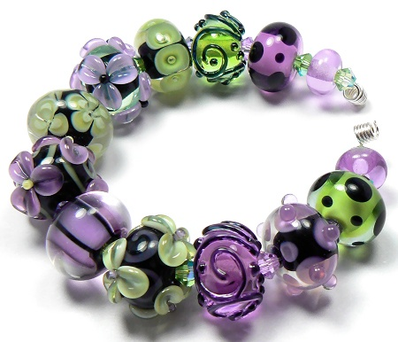 beads handmade lampwork glass beads by artist kandice seeber