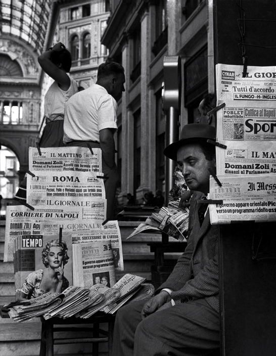 Italy. Naples, 1960 // Herbert List