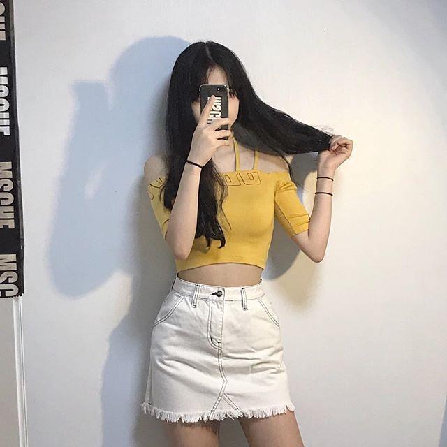 Girl casual outfit inspire - korean fashion 2021 tiktok em 2021   Roupas  koreanas, Looks bonitos, Looks