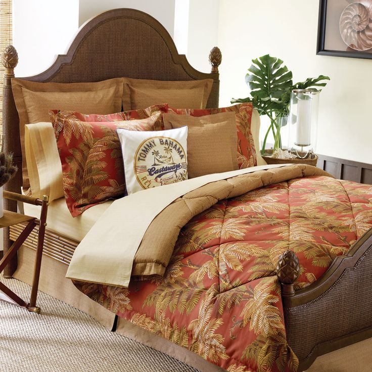 tommy bahama bedroom sets.  TommyBahama Orange Cay Comforter Set tropical coastal bed bedding 51 best Tropical Coastal Bedding images on Pinterest