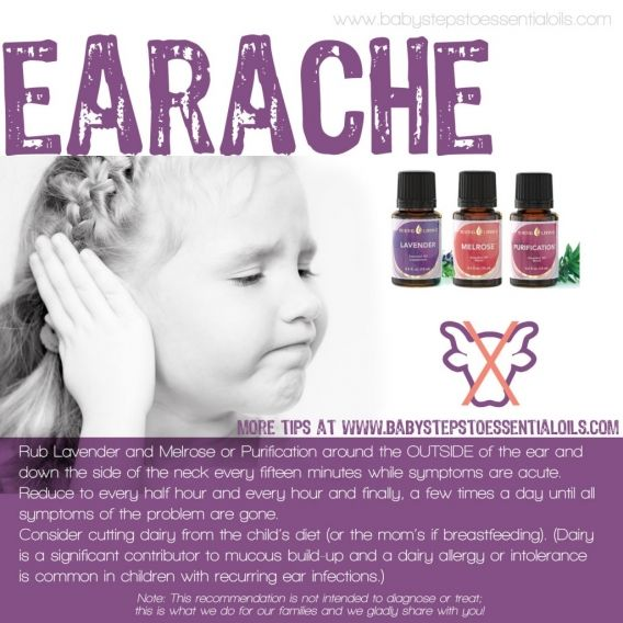 Baby Steps to Essential Oils - Earache Recommendation