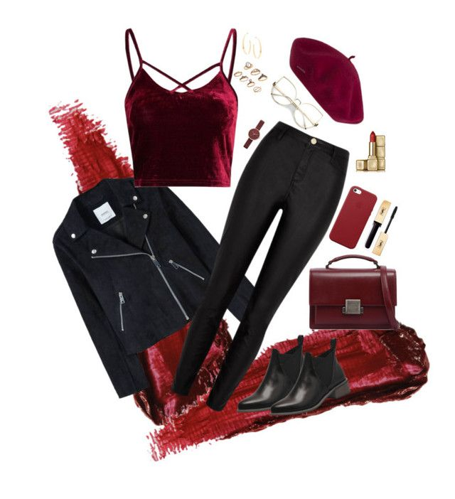 """""""Autumn"""" by vanna0803 on Polyvore featuring By Terry, MANGO, River Island, Yves Saint Laurent, Apple, Guerlain, Skagen and Lana"""