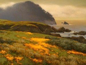 Brian Blood - oilBrian Blood, Art Art Art, California Art, Art Projects Ideas, Art Enjoy, Seascape Painting, Art Fav, Oil Painting, Art Seascape