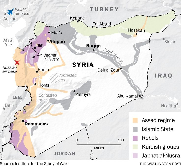The current situation in Syria.