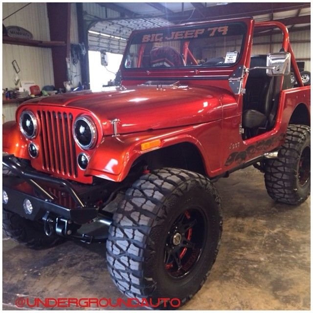 Custom 1979 Jeep CJ7.
