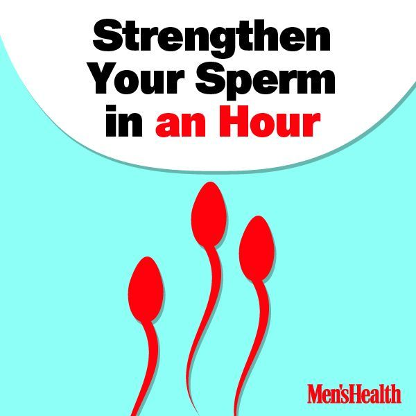 how to get good sperm count