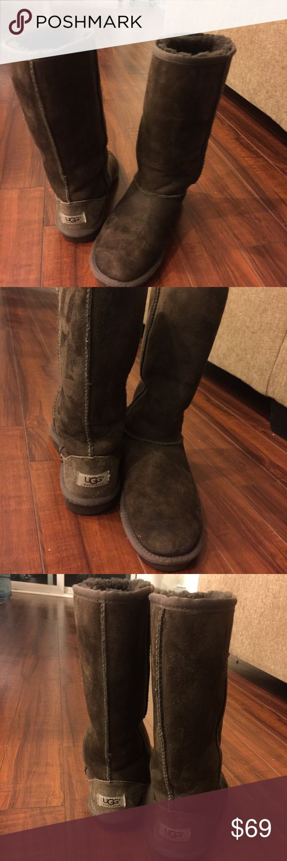 UGG Australia  brown boots Final Sale💕UGG Australia brown, good condition, used and looks great! UGG Shoes Winter & Rain Boots