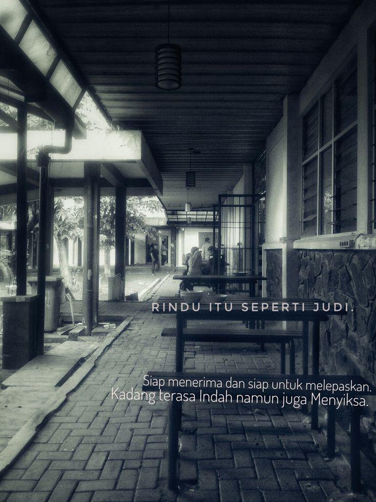 Rindu itu seperti judi. #quote #indonesia #puisi #hati #rindu #cinta