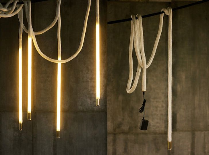 view bench rope lighting. luke lamp cou0027s center pendant rope lights give energy efficient leds an elegant new form view bench lighting d