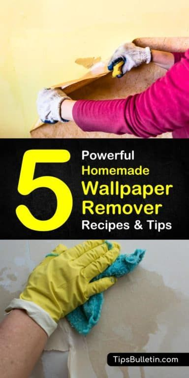 Homemade Wallpaper Remover Recipes: 5 Tips For Easily Removing Wallpaper