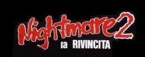 A Nightmare on Elm Street 2: Freddy's Revenge (1985) (LOGO / ITALY)