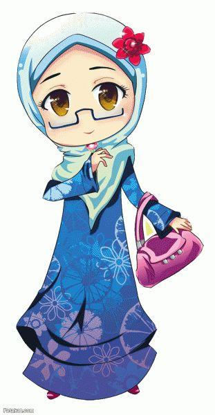 hijab anime