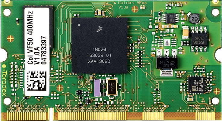 Colibri VF50 - Powered by a Freescale Vybrid SoC, running an ARM Cortex-A5 processor at 400 MHz, the Colibri VF50 is the world's most cost-effective Computer module (starting at $26 for volume).