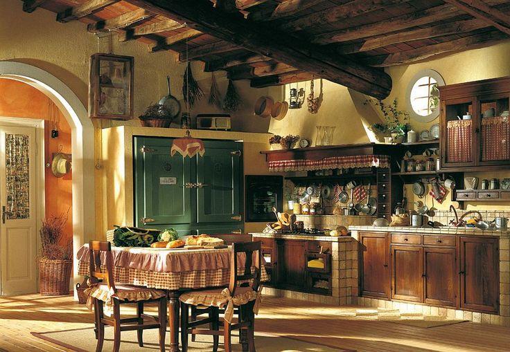 De poveste bucătăriile acestea rustice