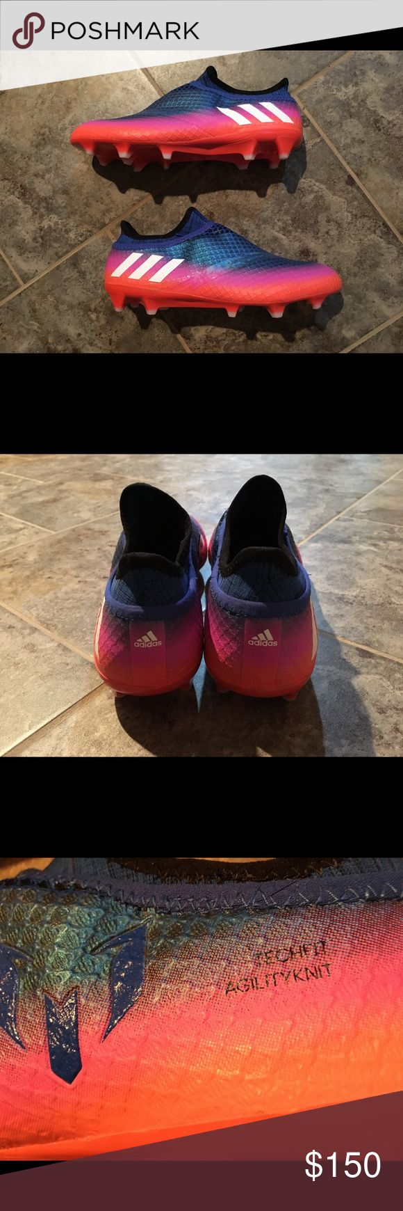 Adidas Messi 16+ Pureagility Firm Ground Cleats Size 8.5. Brand new condition. Comes with extra insoles. Next day shipping. adidas Shoes Athletic Shoes