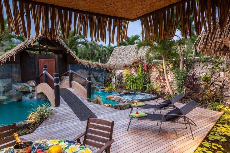 Rumours Luxury Villas and Spa in Rarotonga.