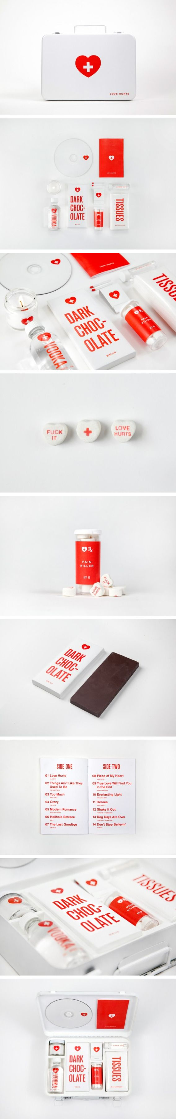 Love Hurts. A potentially useful packaging concept by Melanie Chernock