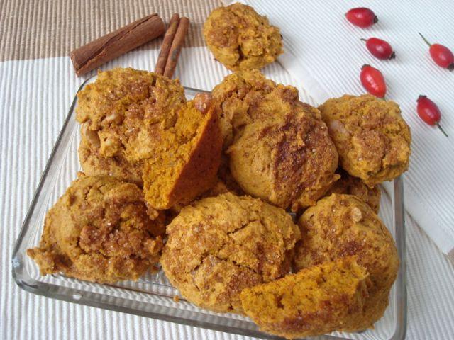 Pumpkin Cinnamon Cookies | Dýňovo-skořicové cookies - www.vune-vanilky.cz