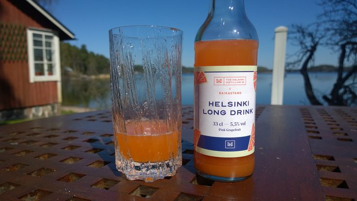 #Helsinki Long Drink, so popular that it is difficult to get hold of. #lonkka #grapefruit #iittala