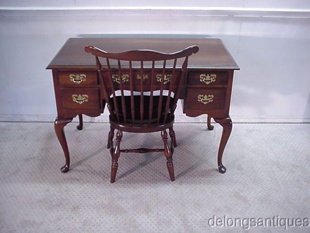 31778 Harden Solid Cherry Queen Anne Desk Amp Chair