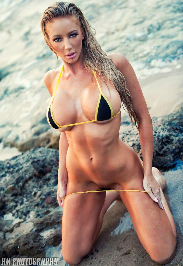 Beautiful girls oiling bikinis didle