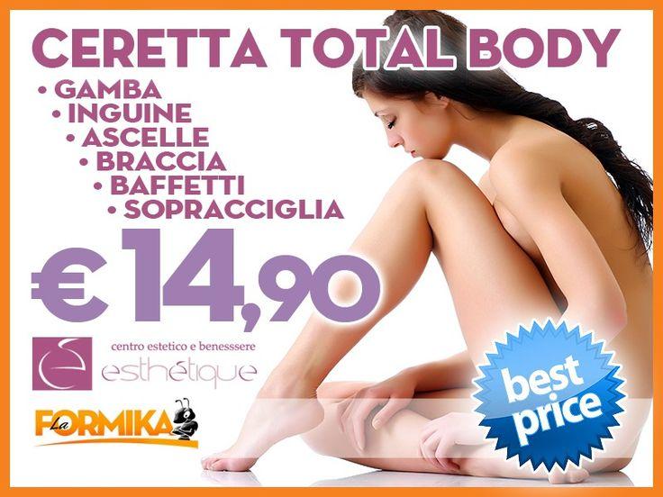 Best Price.......OFFERTA COUPON CERETTA TOTALE € 14,90!!!